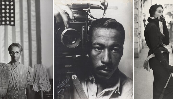 three iconic images by artist Gordon Parks