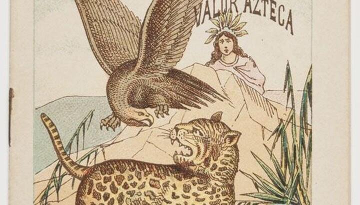José Guadalupe Posada (1852–1913), La Batalla del Aguila Coahutly Contra la Serpiente y El Tigre O el Triunfo..., 1900, Chromolithograph