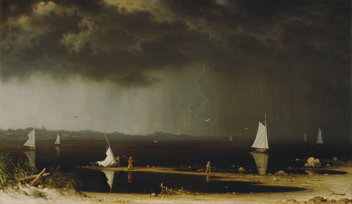 Martin Johnson Heade, Thunder Storm on Narragansett Bay, 1868