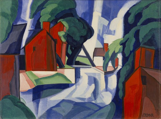 Oscar Bluemner, Blue Day, 1930