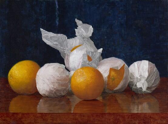 William J. McCloskey, Wrapped Oranges, 1889