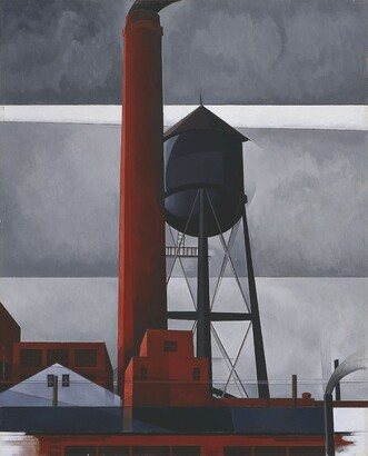 Charles Demuth, Chimney and Water Tower, 1931
