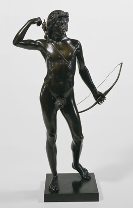 Henry Kirke Brown (1814–1886), The Choosing of the Arrow, 1849, Bronze