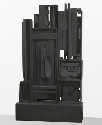 Louise Nevelson (1899–1988), Lunar Landscape, 1959, Painted wood