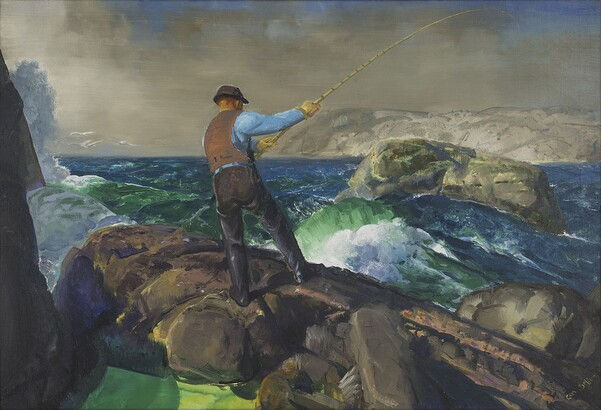 George Bellows, The Fisherman, 1917