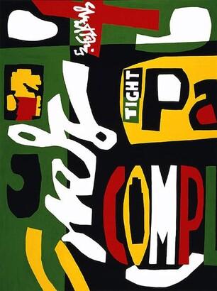 Stuart Davis, Blips and Ifs, 1963
