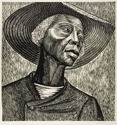 Elizabeth Catlett (1915–2012) Sharecroppers ca. 1952