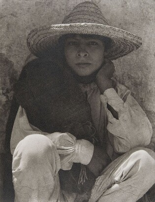Paul Strand (1890–1976), Boy. Hidalgo, 1933