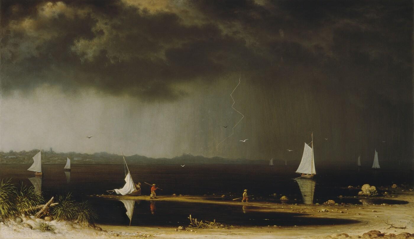 Martin Johnson Heade, Thunder Storm on Narragansett Bay, 1868