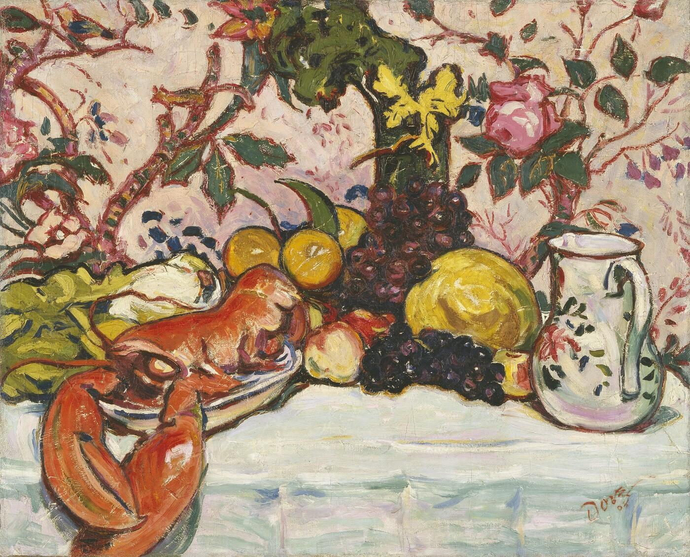 Arthur Dorve, The Lobster, 1908