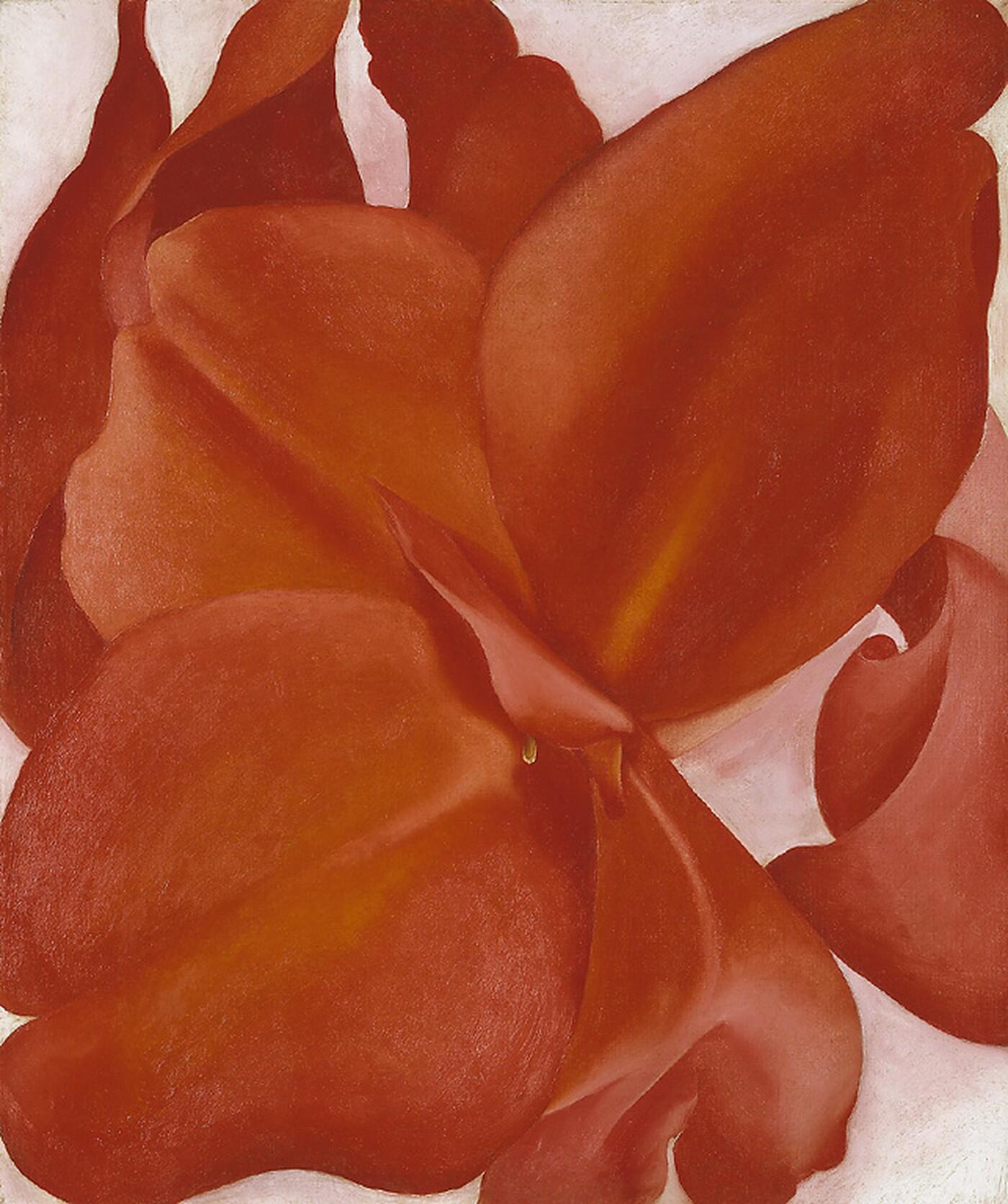 Red Cannas by Georgia O'Keeffe, 1927