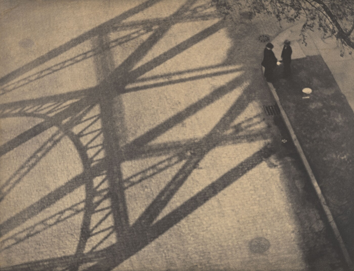 Paul Strand (1890–1976), From the Viaduct, 125th Street, New York, 1916, 1916, Platinum print