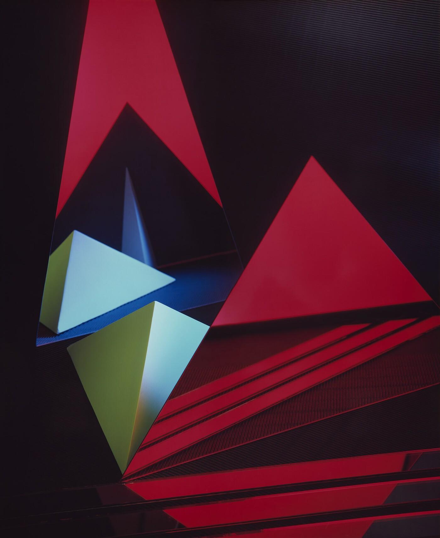 Barbara Kasten (b. 1936), Construct XXI, 1983, Dye diffusion transfer print