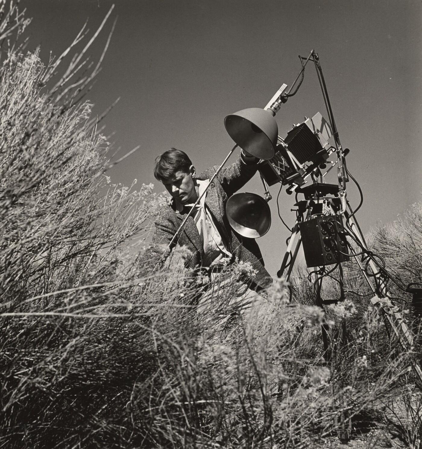 W. Eugene Smith (1918–1978), [Dr. Eliot Porter, Guggenheim fellow, photographer, specialty wild birds], ca. 1947