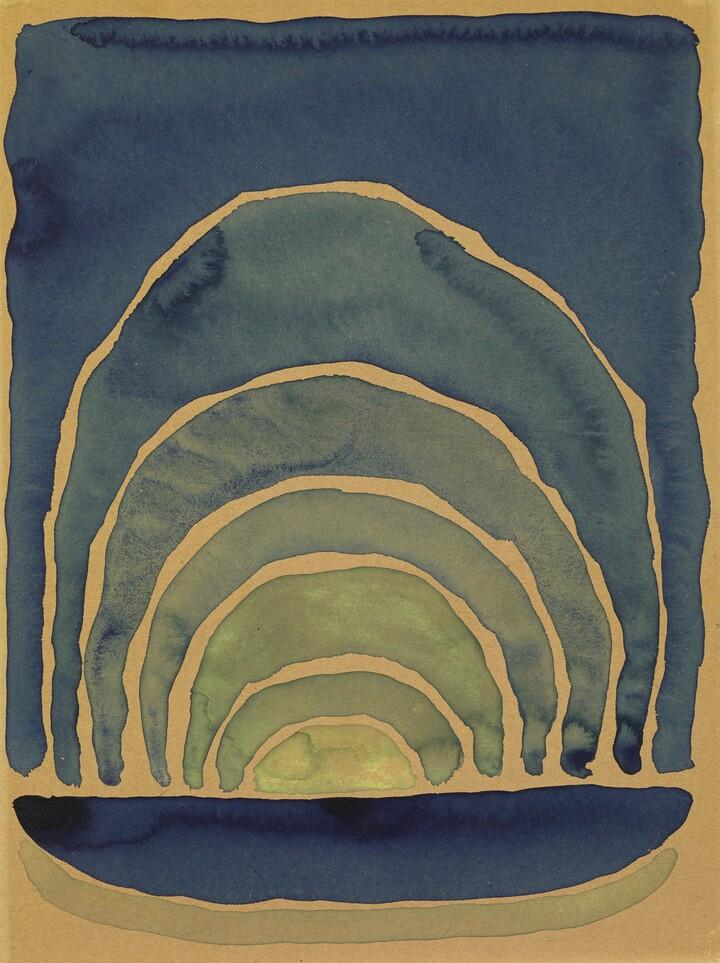 Georgia O'Keeffe, Light Coming on the Plains No. I, 1917