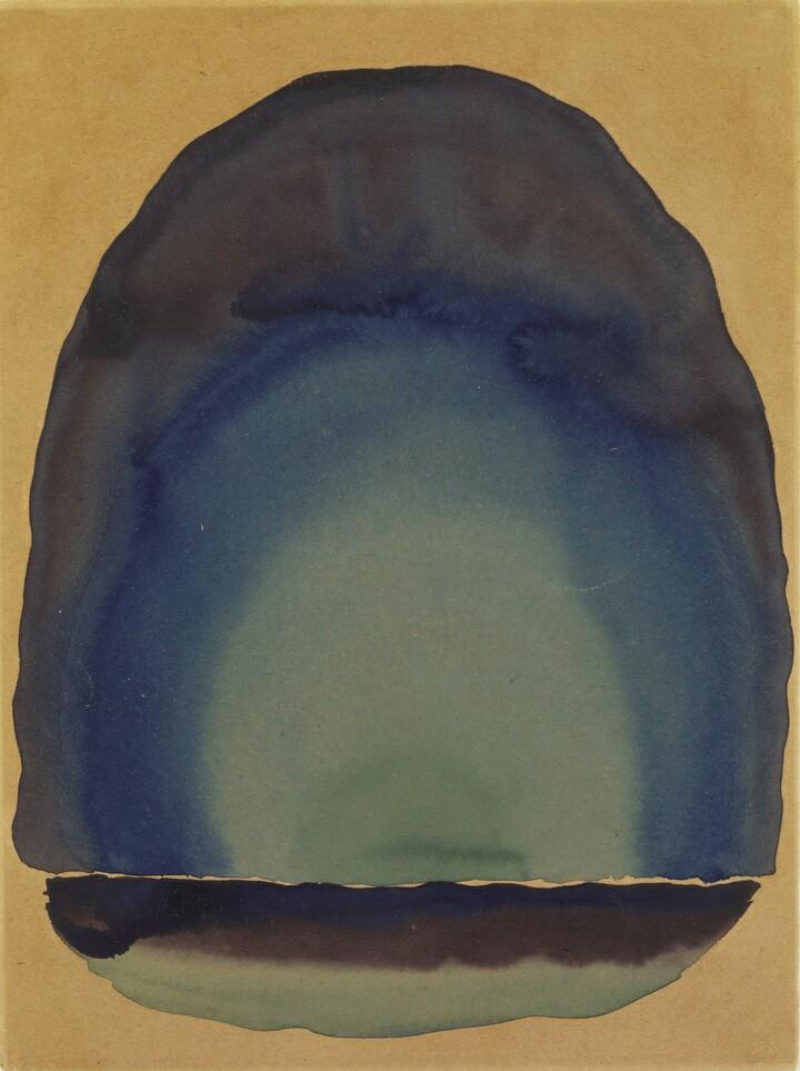 Georgia O'Keeffe, Light Coming on the Plains No. II, 1917