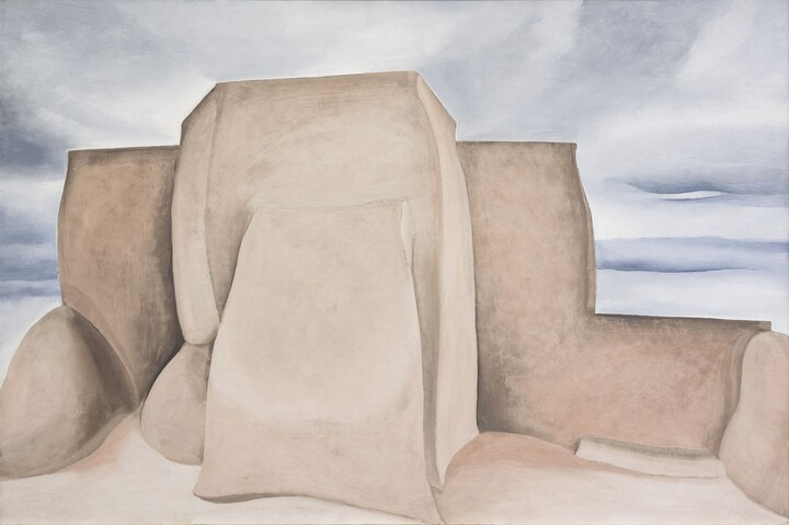 Georgia	O'Keeffe, Ranchos Church, New Mexico, 1930-1931