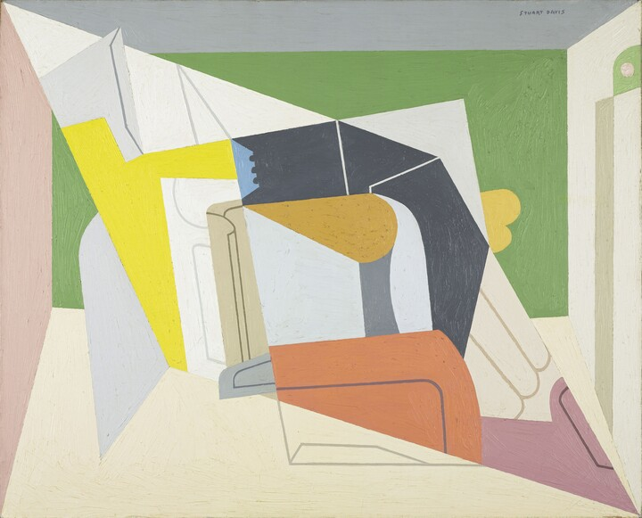 Stuart Davis (1892–1964), Egg Beater No. 2, 1928, Oil on canvas