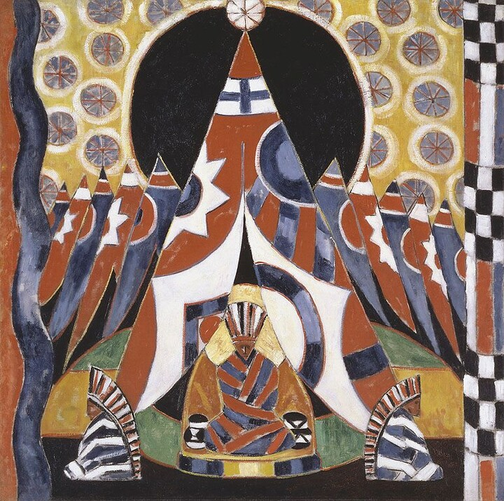 Marsden Hartley, American Indian Symbols, 1914