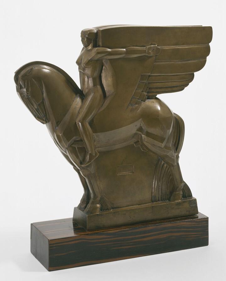 John Bradley Storrs (1885–1956), Valsuani Fondeurs, Study for a Monument to Walt Whitman, 1919, Bronze