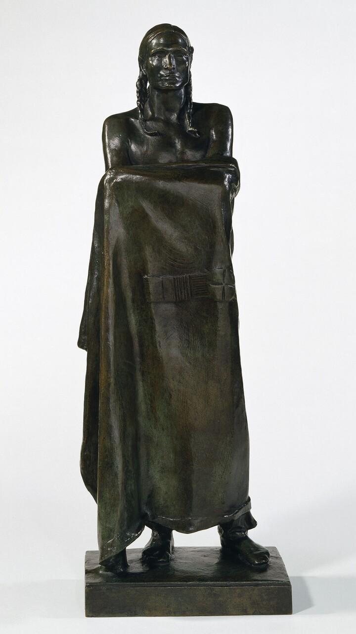 Alexander Stirling Calder (1870–1945), An American Stoic, 1913, Bronze