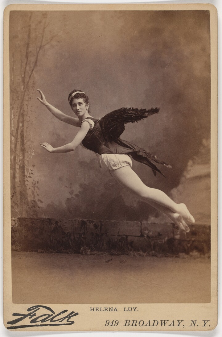 Benjamin J. Falk, Helena Luv, 1880s, albumen silver print
