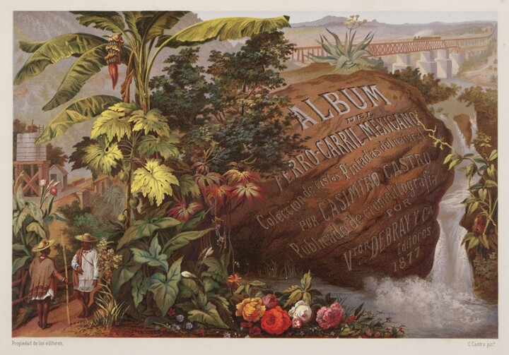 Casimiro Castro (1826–1889), Untitled (Introductory Picture), 1877, chromolithograph