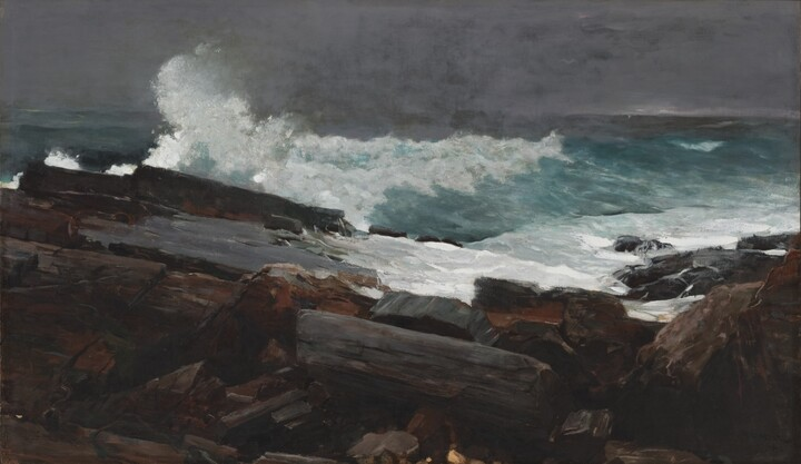 Weather Beaten by WInslow Homer