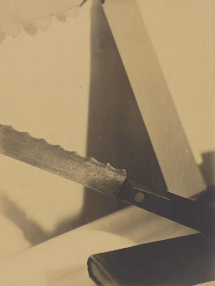 Margaret Watkins (1884–1969), Design--Angles, 1919, Gelatin silver print