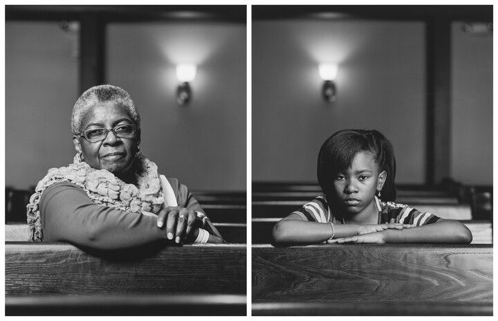 Dawoud Bey (b. 1953), The Birmingham Project: Mary Parker and Caela Cowan, 2012, Inkjet print