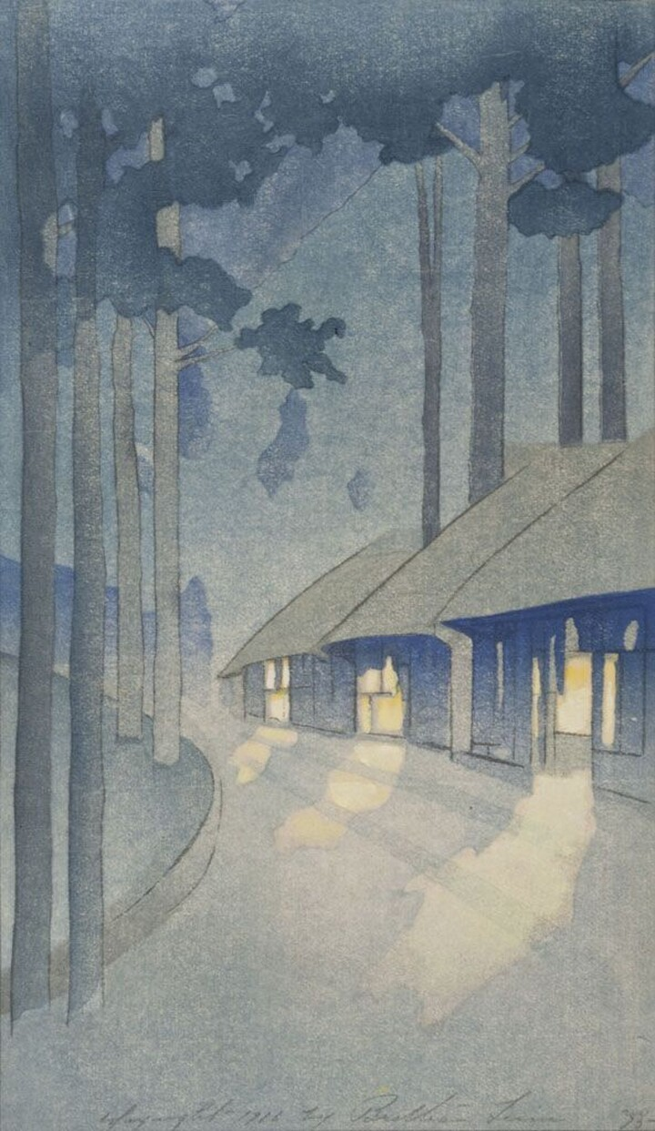 Bertha Lum (1869–1954) Road to the Forest 1916