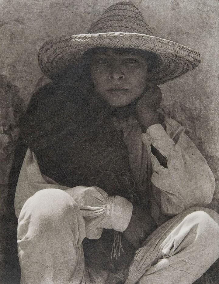 Paul Strand (1890–1976), Boy. Hidalgo, 1933