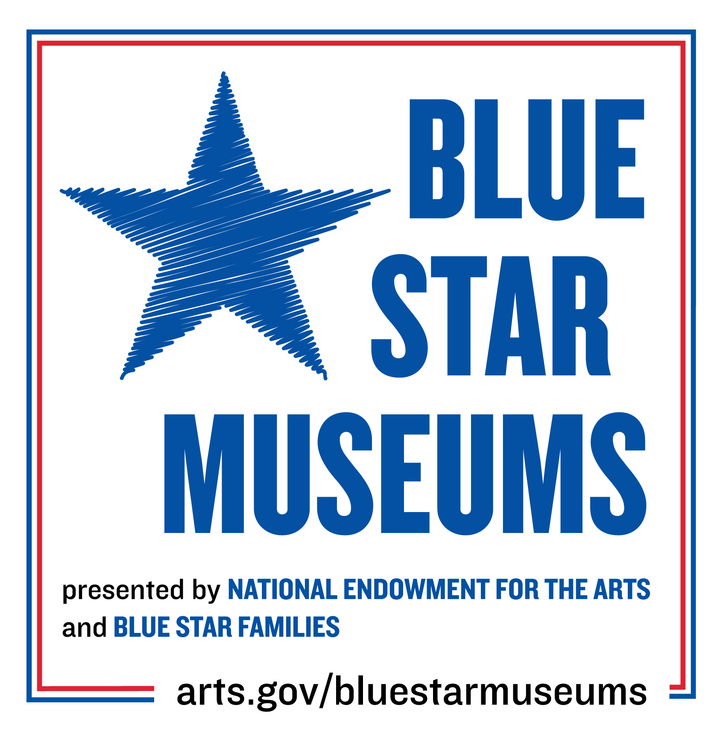 BLUE STAR MUSEUMS presented by National Endowment for the Arts and Blue Star Families   arts.gov/bluestarmuseums