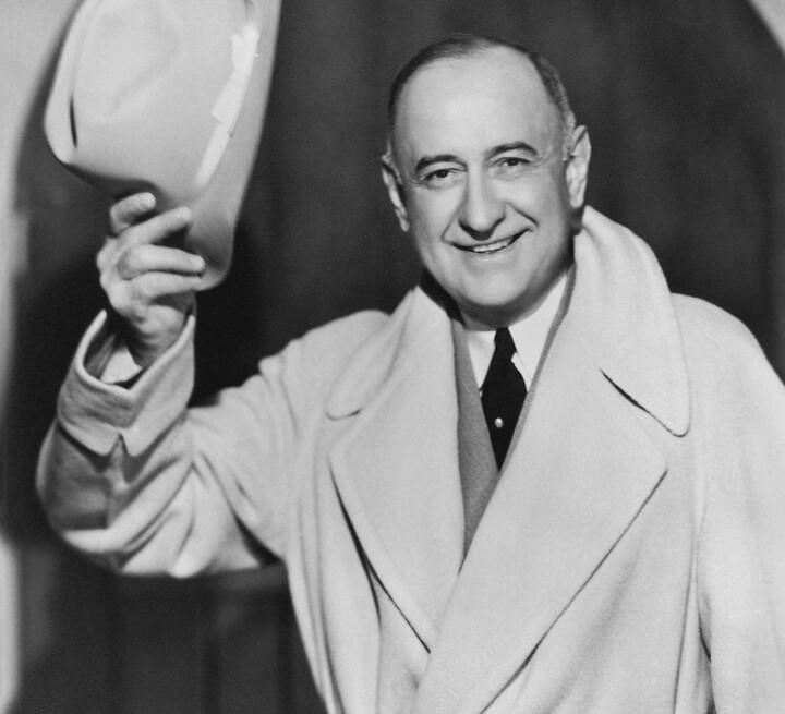 Portrait of Amon Carter in 1938