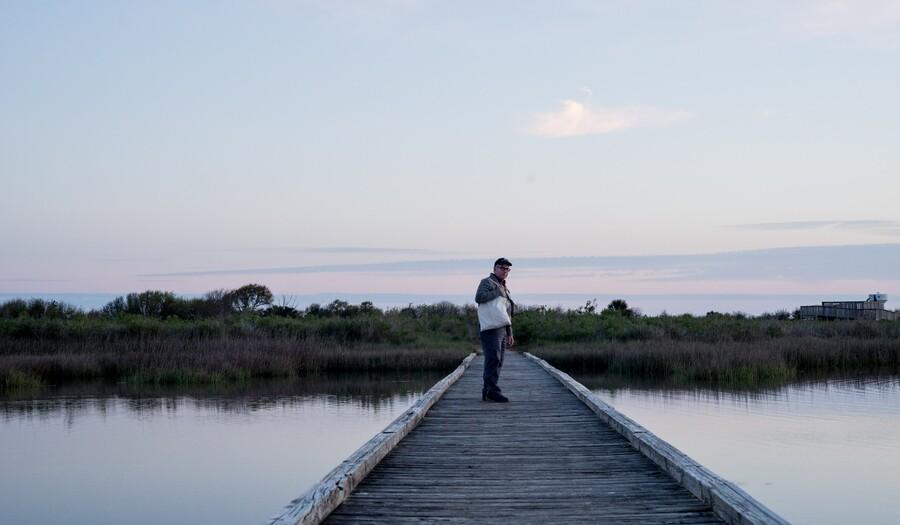 Mark Dion at Galveston Island State Park, image © Dornith Doherty